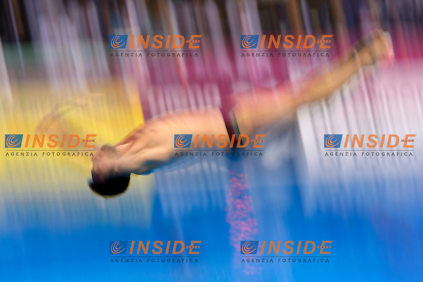 BENEDETTI Michele ITA Italy <br /> Team Event Final <br /> London, Queen Elizabeth II Olympic Park Pool <br /> LEN 2016 European Aquatics Elite Championships <br /> Diving  <br /> Day 01 20160509<br /> Photo Andrea Staccioli/Deepbluemedia/Insidefoto