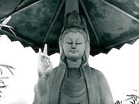 buddhistische Statue, Vietnam 1991