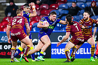 Picture by Alex Whitehead/SWpix.com - 08/02/2018 - Rugby League - Betfred Super League - Huddersfield Giants v Warrington Wolves - John Smith's Stadium, Huddersfield, England - Warrington's Tom Lineham.