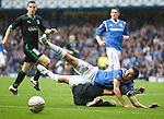 Alejandro Bedoya is tackled by Ian Murray