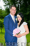 Noranne Stack, Duagh, daughter of Paul and Marie Stack, and Kenneth Leahy, Causeway, son of D.J.  and Josephine Leahy, were married at St Bridgid's Church, Duagh by Fr. Paul Dillon on Thursday 24th June 2016 with a reception at Ballyseede Castle Hotel