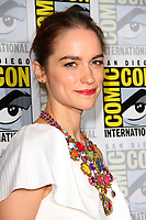 SAN DIEGO - July 22:  Melanie Scrofano at Comic-Con Saturday 2017 at the Comic-Con International Convention on July 22, 2017 in San Diego, CA