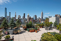 Roof Deck at 245 East 24th Street