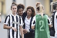 Mozzanica (Bg) 30/09/2017 - campionato di calcio serie A femminile / Mozzanica - Juventus / foto Daniele Buffa/Image Sport/Insidefoto<br /> nella foto: Rita Guarino-Sara Gama