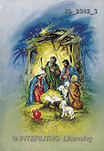 Interlitho, CHRISTMAS SANTA, SNOWMAN, nostalgic, paintings, Holy Family, shepherds(KL2342/3,#X#) Weihnachten, nostalgisch, Navidad, nostálgico, illustrations, pinturas