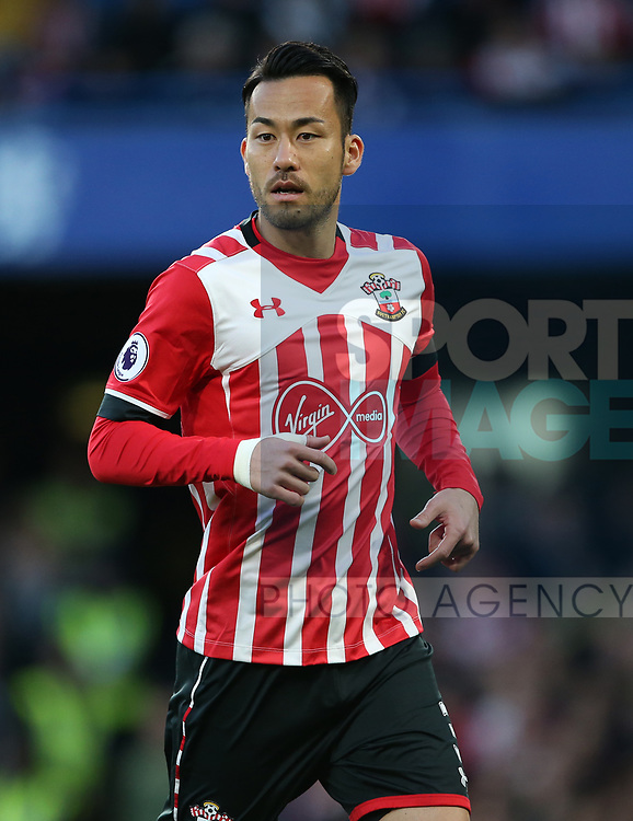 Southampton's Maya Yoshida in action during the Premier League match at Stamford Bridge Stadium, London. Picture date: April 25th, 2017. Pic credit should read: David Klein/Sportimage