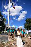 American Yacht Club.Summer Wedding Photography.Westchester, New York.Allison Sovoy and Charles Carnegie