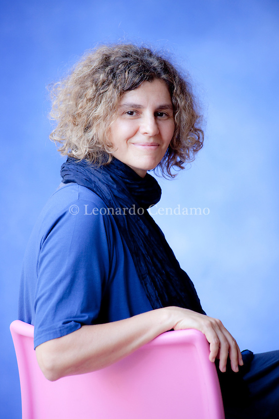 Chicca Cagliardi, italian writer. Mantova, 2011.  © Leonardo Cendamo