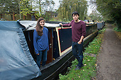 Maggie & James, temporary mooring on the Grand Union canal, Rickmansworth.