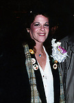 """Gilda Radner opening night starring in  """"Lunch Hour"""" Directed by Mike Nichols on Nov 12, 1980 at the Barrymore Theatre in New York City."""