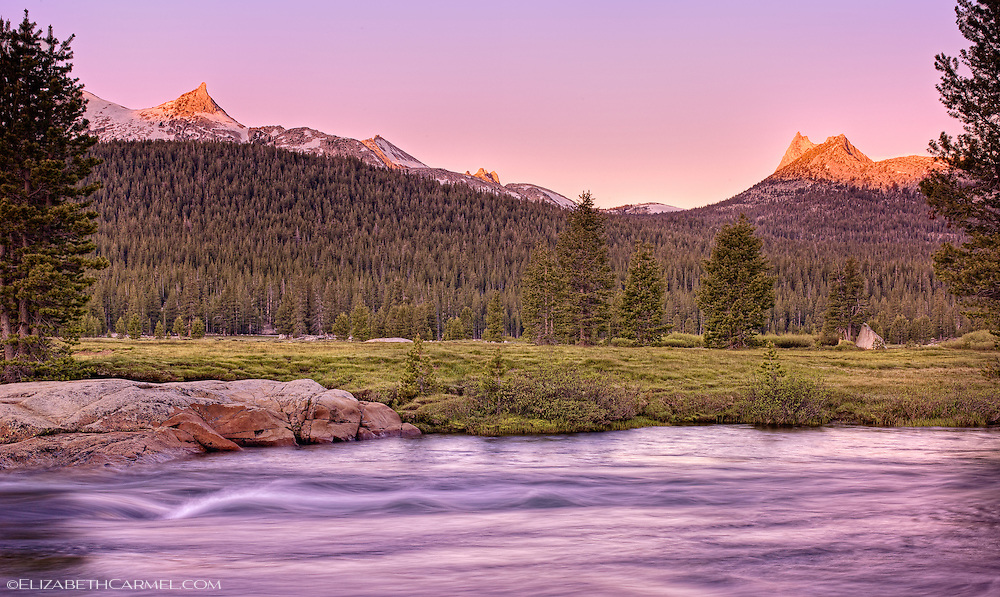 Tuolumne Meadows Sunrise