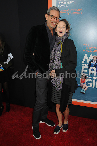 "3 June 2015 - West Hollywood, California - Jeff Goldblum, Emilie Livingston. ""Me And Earl And The Dying Girl"" Los Angeles Premiere held at the Harmony Gold Theatre. Photo Credit: Byron Purvis/AdMedia"