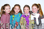 Leonie Baker, Amy Roche, Aisling Donovan and Sarah Edwards all dressed up at the Holy Cross fashion show in the Malton Hotel, Killarney on Thursday      Copyright Kerry's Eye 2008