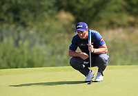 Paul Dunne (IRL)  on the 4th green during Round 4 of Made in Denmark at Himmerland Golf &amp; Spa Resort, Farso, Denmark. 27/08/2017<br /> Picture: Golffile | Thos Caffrey<br /> <br /> All photo usage must carry mandatory copyright credit     (&copy; Golffile | Thos Caffrey)