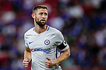 Chelsea Defender Gary Cahill in action during the International Champions Cup 2017 match between FC Internazionale and Chelsea FC on July 29, 2017 in Singapore. Photo by Marcio Rodrigo Machado / Power Sport Images