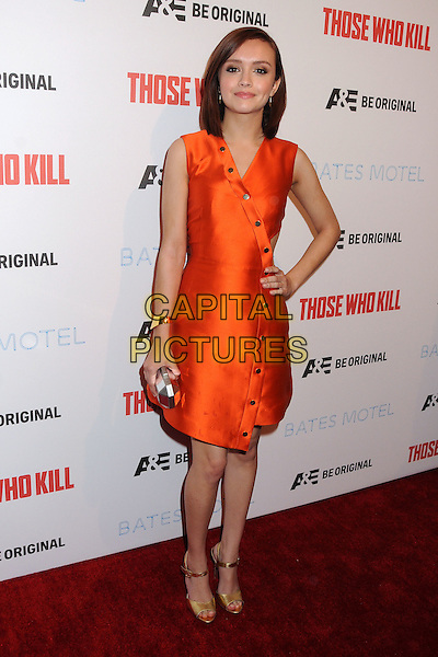 26 February 2014 - Hollywood, California - Olivia Cooke. &quot;Bates Motel&quot; Season 2 and &quot;Those Who Kill&quot; Premiere Party held at Warwick. <br /> CAP/ADM/BP<br /> &copy;Byron Purvis/AdMedia/Capital Pictures