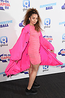 LONDON, UK. June 08, 2019: Ella Eyre poses on the media line before performing at the Summertime Ball 2019 at Wembley Arena, London<br /> Picture: Steve Vas/Featureflash