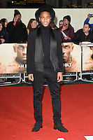 LONDON, UK. November 28, 2016: Raheem Stirling at the &quot;I Am Bolt&quot; World Premiere at the Odeon Leicester Square, London.<br /> Picture: Steve Vas/Featureflash/SilverHub 0208 004 5359/ 07711 972644 Editors@silverhubmedia.com