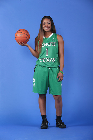 DENTON, TX - SEPTEMBER 24: North Texas Mean Green Basketball media day at UNT Coliseum in Denton on September 24, 2015 in Denton, Texas. (Photo by Rick Yeatts)