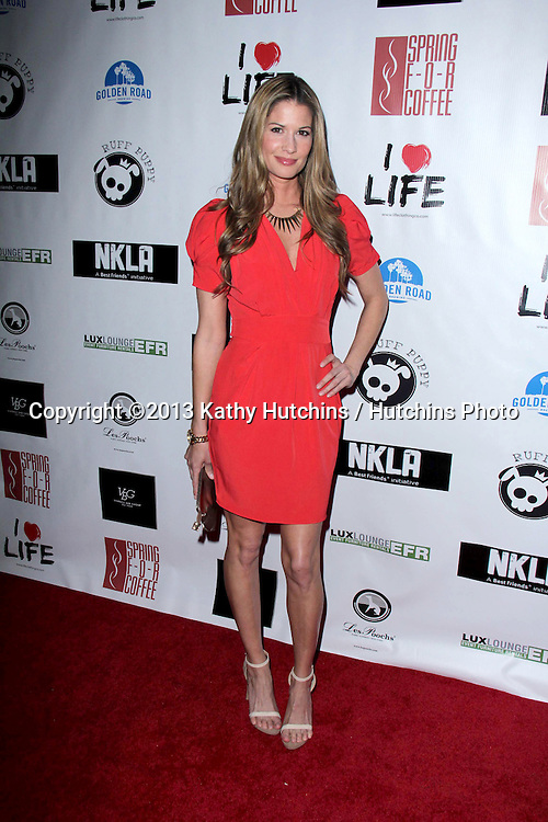 LOS ANGELES - APR 2:  Lindsey Lockwood arrives at  the No Kill L.A. Charity Event at the Fred Segal on April 2, 2013 in West Hollywood, CA