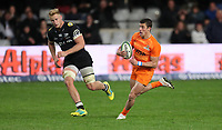 DURBAN, SOUTH AFRICA - JULY 14: Bautista Delguy of the Jaguares during the Super Rugby match between Cell C Sharks and Jaguares at Jonsson Kings Park on July 14, 2018 in Durban, South Africa. Photo: Steve Haag / stevehaagsports.com