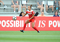 Boyds, MD - Saturday August 12, 2017: Mallory Pugh during a regular season National Women's Soccer League (NWSL) match between the Washington Spirit and The Boston Breakers at Maureen Hendricks Field, Maryland SoccerPlex.