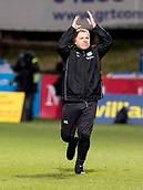2nd December 2017, Firhill Stadium, Glasgow, Scotland; Scottish Premiership football, Partick Thistle versus Hibernian; Neil Lennon (Hibernian Manager) at full time