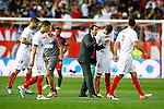 Sevilla CF's coach Unai Emery during Spanish Kings Cup Final match. May 22,2016. (ALTERPHOTOS/Acero)