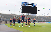 East Hartford, CT - July 28, 2018: The USWNT trains for the Tournament of Nations at Pratt & Whitney Stadium.
