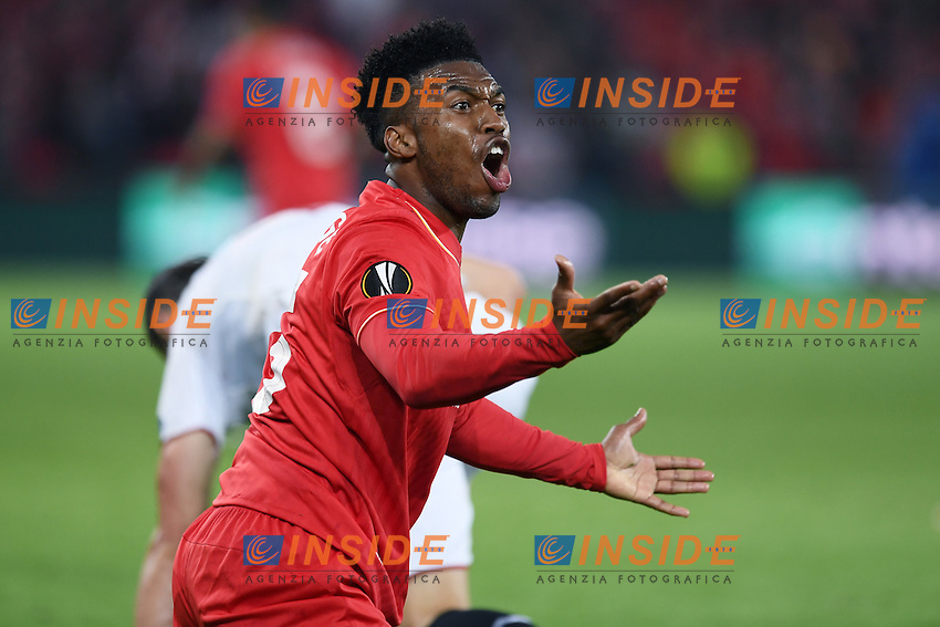 Daniel Sturridge.<br /> Basilea (Svizzera) 18-05-2016 - finale Europa League / Liverpool-Siviglia. <br /> Foto Matteo Gribaudi / Image Sport / Insidefoto