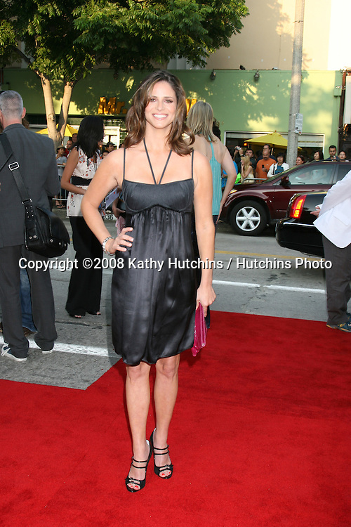 """Andrea Savage arriving at the Premiere of """"Step Brothers"""" at Mann's Village Theater in Westwood, CA on.July 15, 2008.©2008 Kathy Hutchins / Hutchins Photo ."""