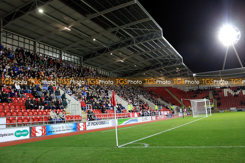 Home End at the New York Stadium, Rotherham - Rotherham United vs Wycombe Wanderers - NPower League Two Football at The New York Stadium, Rotherham, South Yorkshire - 20/11/12 - MANDATORY CREDIT: Paul Dennis/TGSPHOTO - Self billing applies where appropriate - 0845 094 6026 - contact@tgsphoto.co.uk - NO UNPAID USE.
