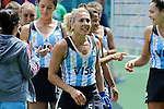 The Hague, Netherlands, June 14: Macarena Rodriguez Perez #5 of Argentina looks on after the field hockey bronze medal match (Women) between USA and Argentina on June 14, 2014 during the World Cup 2014 at Kyocera Stadium in The Hague, Netherlands. Final score 2-1 (2-1)  (Photo by Dirk Markgraf / www.265-images.com) *** Local caption ***