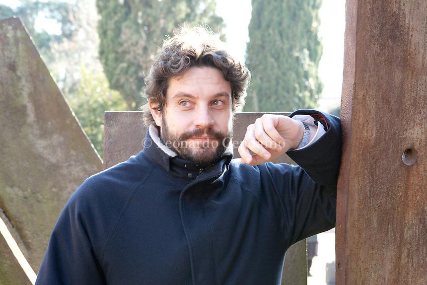 Raffaele Avanzini, italian publishing in Roma. Scuola per Librai Umberto e Elisabetta Mauri. Venezia, gennaio 2012.  © Leonardo Cendamo