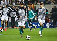 Sami Khedira (Deutschland Germany), Thomas Mueller (Deutschland Germany) - 23.03.2018: Deutschland vs. Spanien, Esprit Arena Düsseldorf
