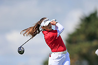 Ffion Tynan (Wales) during the second round of the Irish Womans Open Strokeplay Championship, Co Louth Golf Club, Baltray, Drogheda, Co Louth, Ireland. 12/05/2018.<br /> Picture: Golffile | Fran Caffrey<br /> <br /> <br /> All photo usage must carry mandatory copyright credit (&copy; Golffile | Fran Caffrey)