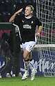 10/01/2009  Copyright Pic: James Stewart.File Name : sct_jspa10_falkirk_v_qots.SCOT ARFIELD CELEBRATES AFTER HE SCORES FALKIRK'S FIRST.James Stewart Photo Agency 19 Carronlea Drive, Falkirk. FK2 8DN      Vat Reg No. 607 6932 25.Studio      : +44 (0)1324 611191 .Mobile      : +44 (0)7721 416997.E-mail  :  jim@jspa.co.uk.If you require further information then contact Jim Stewart on any of the numbers above.........