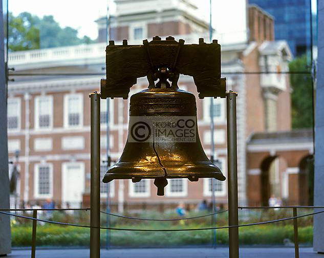 LIBERTY BELL LIBERTY BELL PAVILION PHILADELPHIA PENNSYLVANIA USA