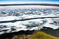 """""""Cracked Ice""""  Yellowstone National Park  Yellowstone Lake 