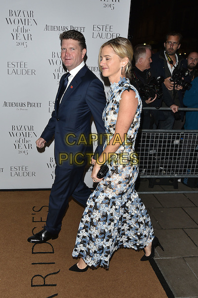 American Ambassador Matthew Barzun (L) and Brooke Brown Barzun<br /> Harper's Bazaar Women of the Year 2015 awards,  Claridges Hotel n London, November 03, 2015.<br /> CAP/PL<br /> &copy;Phil Loftus/Capital Pictures