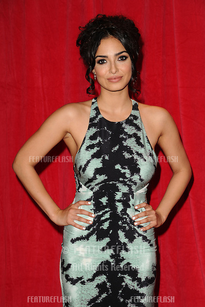Anna Shaffer arriving for the 2014 British Soap Awards, at the Hackney Empire, London. 24/05/2014 Picture by: Steve Vas / Featureflash
