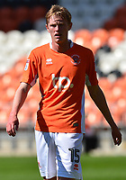 Blackpool's Sean Longstaff looks on<br /> <br /> Photographer Richard Martin-Roberts/CameraSport<br /> <br /> The EFL Sky Bet League One - Blackpool v Milton Keynes Dons - Saturday August 12th 2017 - Bloomfield Road - Blackpool<br /> <br /> World Copyright &copy; 2017 CameraSport. All rights reserved. 43 Linden Ave. Countesthorpe. Leicester. England. LE8 5PG - Tel: +44 (0) 116 277 4147 - admin@camerasport.com - www.camerasport.com