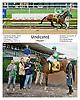 Vindicated winning at Delaware Park on 10/9/13