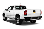 Car pictures of rear three quarter view of 2017 Chevrolet Colorado 2WD wt Extended Cab 3 Door Pick-up Angular Rear