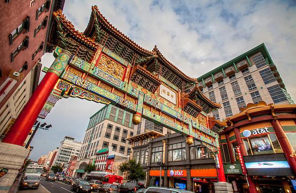 Chinatown Arch Friendship Archway H Street NW Washington DC Architecture