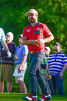 Andy Sullivan (ENG) watches his tee shot on 10 during round 2 of the Shell Houston Open, Golf Club of Houston, Houston, Texas, USA. 3/31/2017.<br /> Picture: Golffile | Ken Murray<br /> <br /> <br /> All photo usage must carry mandatory copyright credit (&copy; Golffile | Ken Murray)