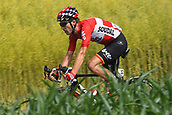 June 17th 2017, Schaffhaussen, Switzerland;  MONFORT Maxime (BEL) Rider of Team Lotto - Soudal during stage 8 of the Tour de Suisse cycling race, a stage of 100 kms between Schaffhaussen and Schaffhaussen