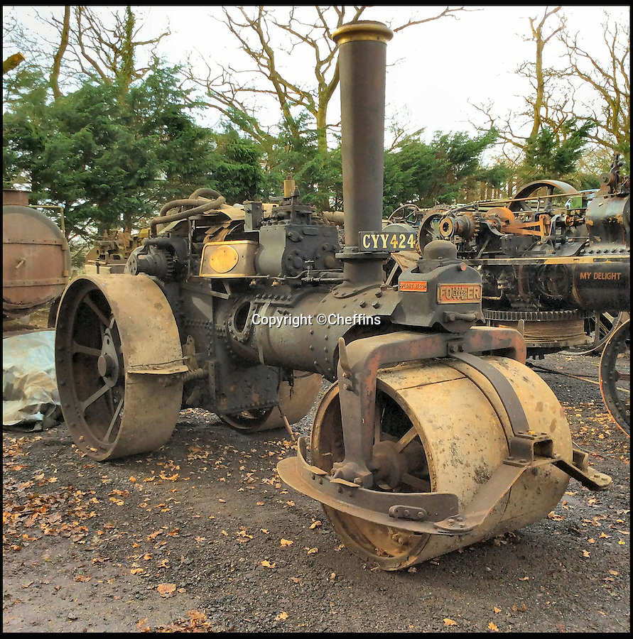 BNPS.co.uk (01202 558833)<br /> Pic: Cheffins/BNPS<br /> <br /> 1930 Fowler T3B.<br /> <br /> A treasure trove of vintage tractors and steam engines collected by two enthusiasts have sold for a massive £1.5 million.<br /> <br /> John Keeley and his wife May amassed the hoard of rusty machines on their farm in Berkshire over a 40 year period.<br /> <br /> Their bizarre fleet included 50 vintage tractors and 15 steam engines and was so vast they were able to stage their own agricultural show that became a famous event.