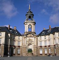 France, Brittany, Département Ille-et-Vilaine, Rennes: Hôtel de Ville | Frankreich, Bretagne, Département Ille-et-Vilaine, Rennes: Hôtel de Ville
