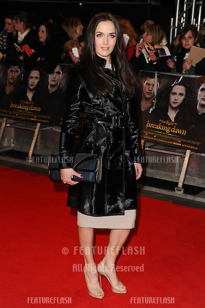 "Victoria Pendelton arriving for the ""The Twilight Saga: Breaking Dawn Part 2"" premiere at the Odeon Leicester Square, London. 14/11/2012 Picture by: Steve Vas / Featureflash"